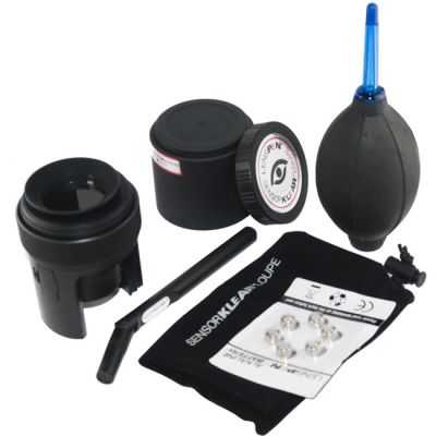 Чистящее средство Lenspen набор для чистки SKLK-1 (SensorKlear Loupe Kit) (лупа, карандаш, груша, 2 шт. AAA)