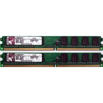 ����������� ������ Kingston Kit 2GB 800MHz DDR2 KVR800D2N6K2/2G