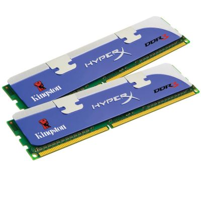 Оперативная память Kingston DIMM 4GB 1333MHz DDR3 Non-ECC CL9(Kit of 2) Hyper X KHX1333C9D3K2/4G