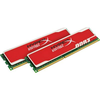 Оперативная память Kingston DIMM 4GB 1333MHz DDR3 Non-ECC CL9 (Kit of 2) HyperX Red Series KHX13C9B1RK2/4