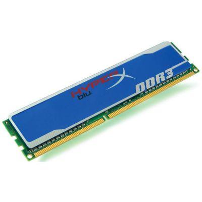 Оперативная память Kingston DIMM 4GB 1333MHz DDR3 Non-ECC CL9 HyperX Blu KHX1333C9D3B1/4G