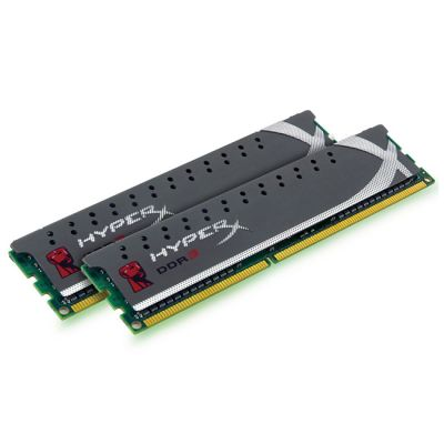 Оперативная память Kingston DIMM 4GB 1600MHz DDR3 Non-ECC CL9 (Kit of 2) HyperX Plug n Play KHX1600C9D3P1K2/4G