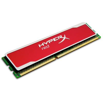 Оперативная память Kingston DIMM 4GB 1600MHz DDR3 Non-ECC CL9 HyperX red Series KHX16C9B1R/4