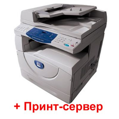 МФУ Xerox WorkCentre 5020/DB + Принт-сервер 1061/A3A