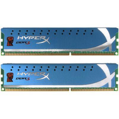 ����������� ������ Kingston DIMM 8GB 1600MHz DDR3 Non-ECC CL9 (Kit of 2) XMP HyperX KHX1600C9D3K2/8GX