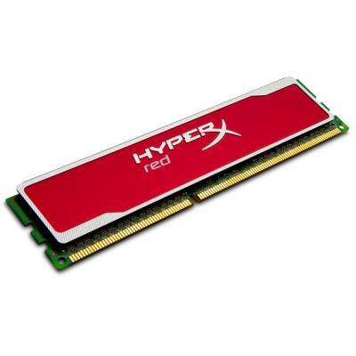 Оперативная память Kingston DIMM 8GB 1600MHz DDR3 Non-ECC CL10 HyperX red Series KHX16C10B1R/8
