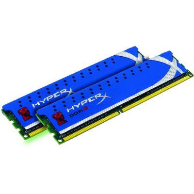 Оперативная память Kingston DIMM 16GB 1600MHz DDR3 Non-ECC CL10 DIMM (Kit of 2) XMP HyperX Blu KHX16C10B1K2/16X