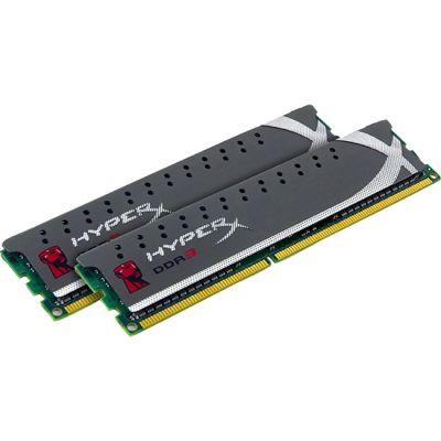 Оперативная память Kingston DIMM 16GB 1600MHz DDR3 Non-ECC CL9 (Kit of 2) HyperX Plug n Play KHX16C9P1K2/16
