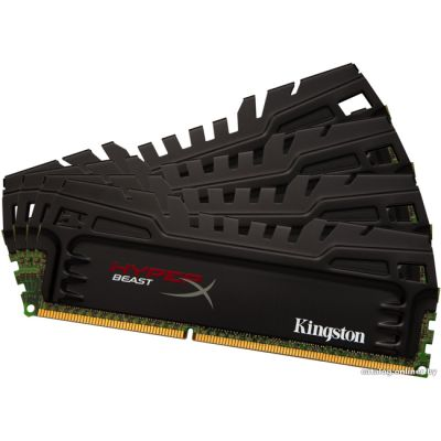 ����������� ������ Kingston DIMM 32GB 1600MHz DDR3 CL9 (Kit of 4) XMP Beast Series KHX16C9T3K4/32X