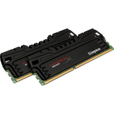Оперативная память Kingston DIMM 8GB 1866MHz DDR3 CL9 (Kit of 2) XMP Beast Series KHX18C9T3K2/8X