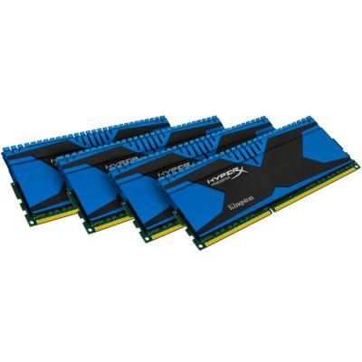 Оперативная память Kingston DIMM 16GB 1866MHz DDR3 Non-ECC CL9 (Kit of 4) XMP Predator Series KHX18C9T2K4/16X