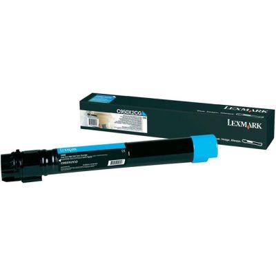 Картридж Lexmark C950 Cyan/Голубой (C950X2CG)