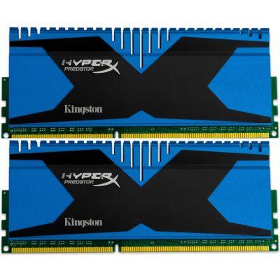Оперативная память Kingston DIMM 8GB 2133MHz DDR3 Non-ECC CL11 (Kit of 2) XMP Predator Series KHX21C11T2K2/8X