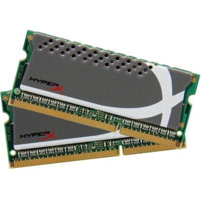 ����������� ������ Kingston SODIMM 8GB 1600MHz DDR3 Non-ECC CL9 (Kit of 2) HyperX Plug n Play KHX1600C9S3P1K2/8G