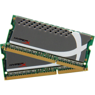 Оперативная память Kingston SODIMM 8GB 2133MHz DDR3 Non-ECC CL12 (Kit of 2) HyperX Plug n Play KHX21S12P1K2/8