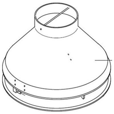 Ariston вытяжной колпак для NHRE 18