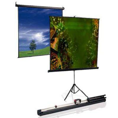 Экран Classic Solution Classic Gemini (16:9) 244x244 (T 236x133/9 MW-LU/B)
