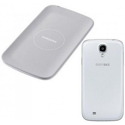 Адаптер питания Samsung беспроводной + крышка для Galaxy S4 i9500 White