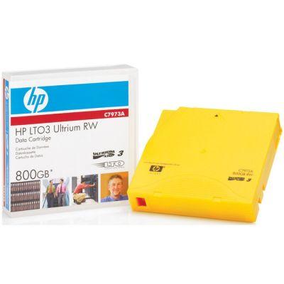 Картридж HP Ultrium LTO3 data cartridge, 800GB RW C7973A