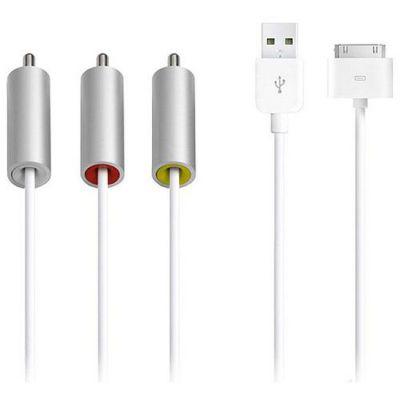 Кабель Apple Composite AV для iPod, iPhone, iPad Apple MC748ZM/A