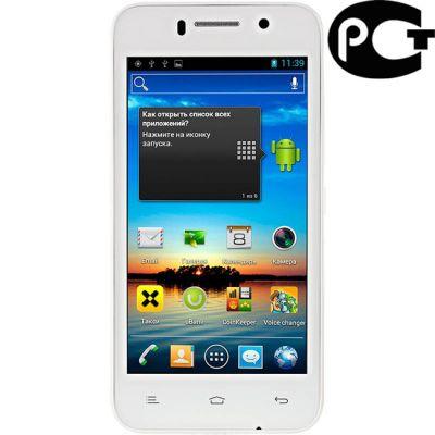 Смартфон Fly IQ446 Magic White