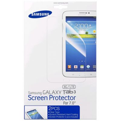 """Защитная пленка Samsung для Galaxy Tab3 7"""" (прозрачная) ET-FT210CTEGRU"""