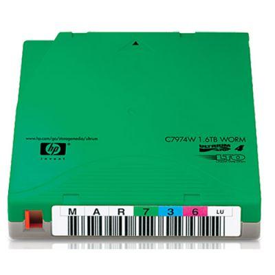 Расходный материал HP упаковка картриджей LTO4 Ultrium 1,6 Тб WORM Custom Label (20 шт.) C7974WL