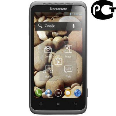 Смартфон Lenovo S720 Grey