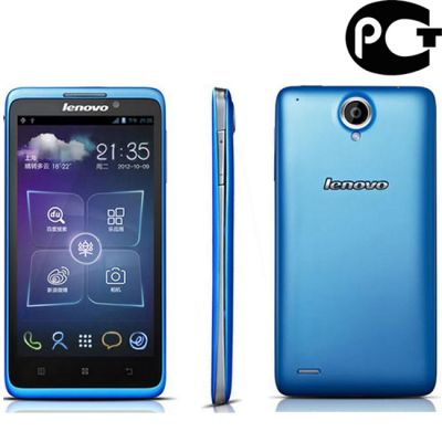 Смартфон Lenovo S890 Blue