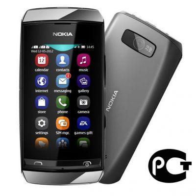 Смартфон Nokia Asha 305 (dark grey)