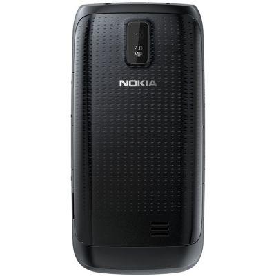 Смартфон Nokia Asha 308 (черный)