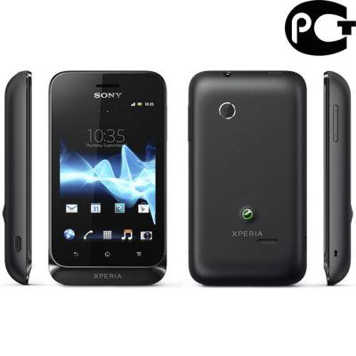 �������� Sony Xperia tipo Black ST21i