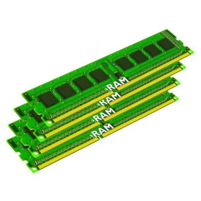 Оперативная память Kingston DIMM 8GB 1333MHz DDR3 ECC Reg CL9 (Kit of 4) SR x8 w/TS KVR1333D3S8R9SK4/8G