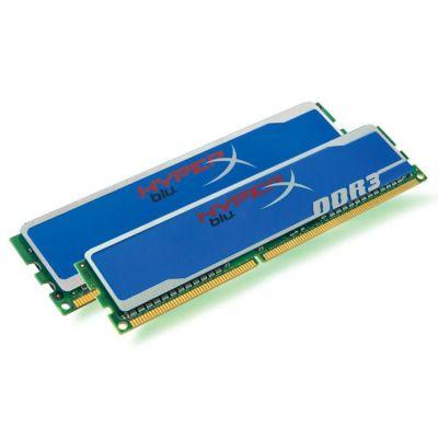 Оперативная память Kingston DIMM 8GB 1333MHz DDR3 Non-ECC CL9 (Kit of 2) HyperX Blu KHX1333C9D3B1K2/8G