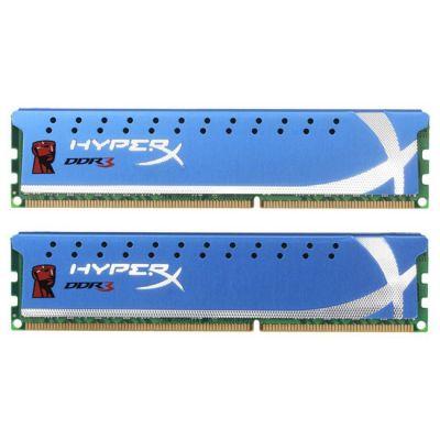 Оперативная память Kingston DIMM 8GB 1866MHz DDR3 Non-ECC CL9 (Kit of 2) KHX1866C9D3K2/8G