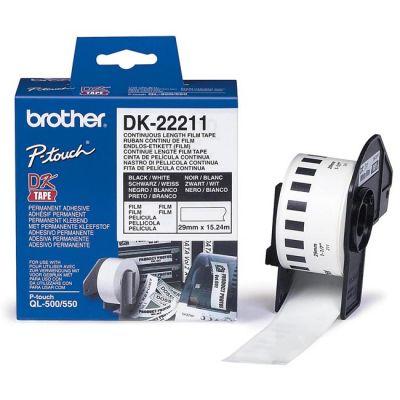 Расходный материал Brother Пленочная клеящаяся лента (15.24 м) 29 мм DK22211