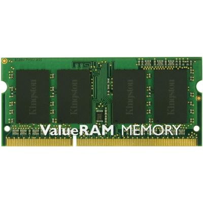 Оперативная память Kingston SODIMM 4GB 1333MHz DDR3L ECC CL9 SR x8 1.35V KVR13LSE9S8/4
