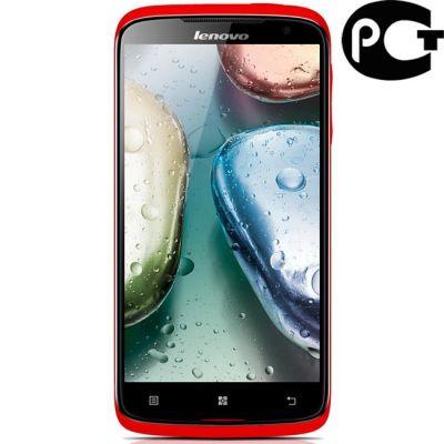 Смартфон Lenovo S820 8Gb Dual SIM Red P0A8004ERU