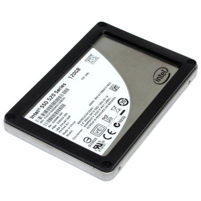 """������������� ���������� Intel SSD SATA2.5"""" 120GB 520 Series SSDSC2BW120A3921367"""