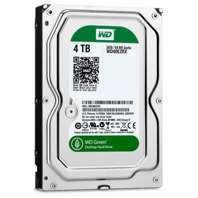 Жесткий диск Western Digital Green 4 ТБ WD40EZRX