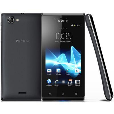 Смартфон Sony Xperia J Black ST26i