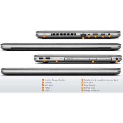 Ультрабук Lenovo IdeaPad U510 Graphite Gray 59374812