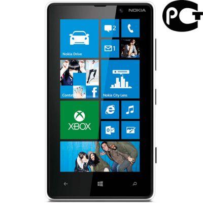 Смартфон Nokia Lumia 820 (белый)