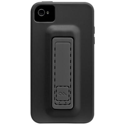 Чехол CaseMate Snap для Iphone 4S Черно-серый (CM019241)