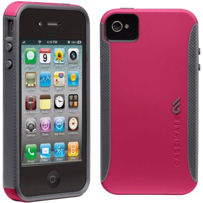 Чехол CaseMate POP для Iphone 4/4s Розовый (CM017117)