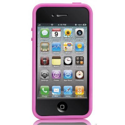 Чехол CaseMate Hula для Iphone 4/4s Розовый (CM012082)
