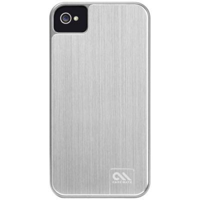 Чехол CaseMate BT Alumnum для Iphone 4/4s Platina (CM018993)