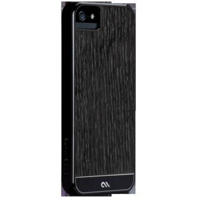 ����� CaseMate Wood ��� Iphone 5 Bkack ASH (CM022438)