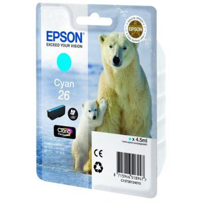 �������� Epson 26 XP600/7/8 Cyan C13T26124010