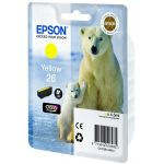 Картридж Epson 26 XP600/7/8 Yellow/Желтый (C13T26144010)